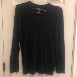 Polo black long sleeved